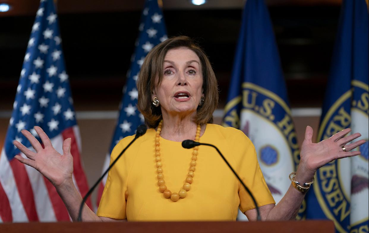 House Speaker Nancy Pelosi (D-Calif.) was not all that popular at Netroots Nation in Philadelphia this weekend. (Photo: ASSOCIATED PRESS)