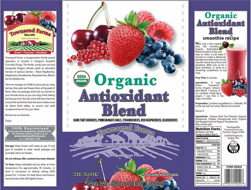 Frozen berry mix linked to hepatitis A recalled