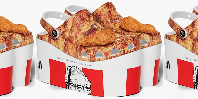 Image result for KFC releases a pair of crocs