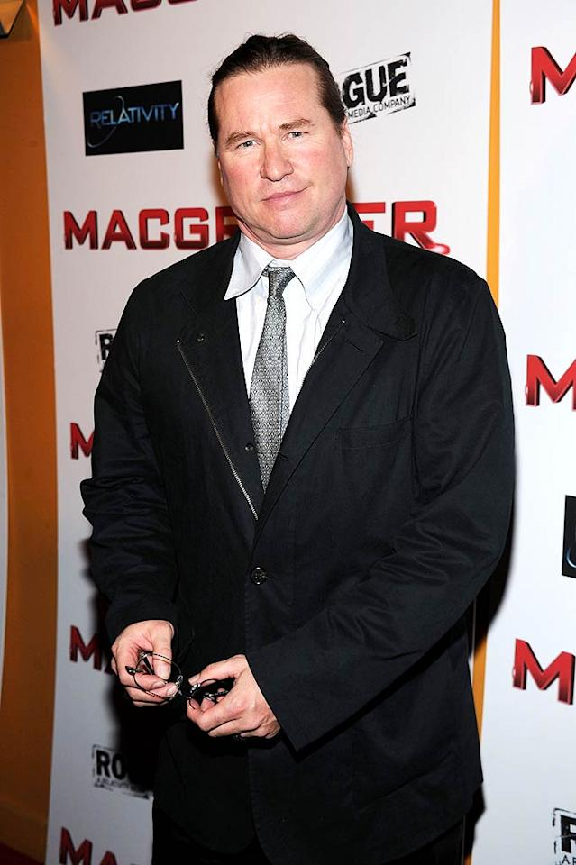 "December 31: Val Kilmer turns 51 Bryan Bedder/<a href=""http://www.gettyimages.com/"" target=""new"">GettyImages.com</a> - May 19, 2010"
