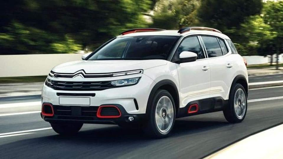 Trial assembly of Citroen C5 Aircross SUV in India begins