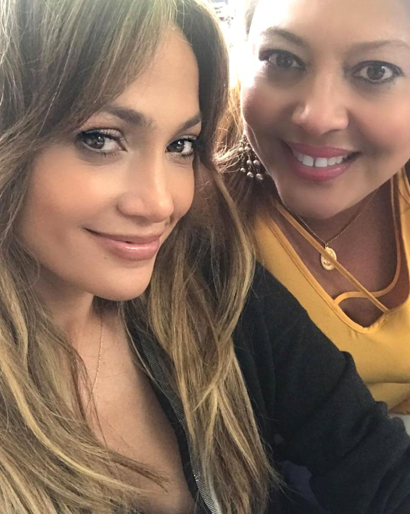 Meet the Family! Jennifer Lopez Hangs Out with Alex Rodriguez's Sister