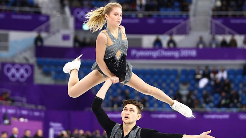 Pictured here, Ekaterina Alexandrovskaya and Harley Windsor competing at the Pyongyang Winter Olympics.