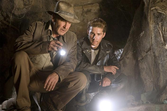 indiana jones crystal skull paramount
