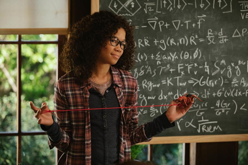 "Storm Reid as Meg Murry in ""A Wrinkle In Time."""
