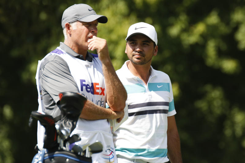 Jason Day announced a split with Steve Williams but did not hint at the kind of tension that plagued the caddie's relationship with Tiger Woods. (Getty)