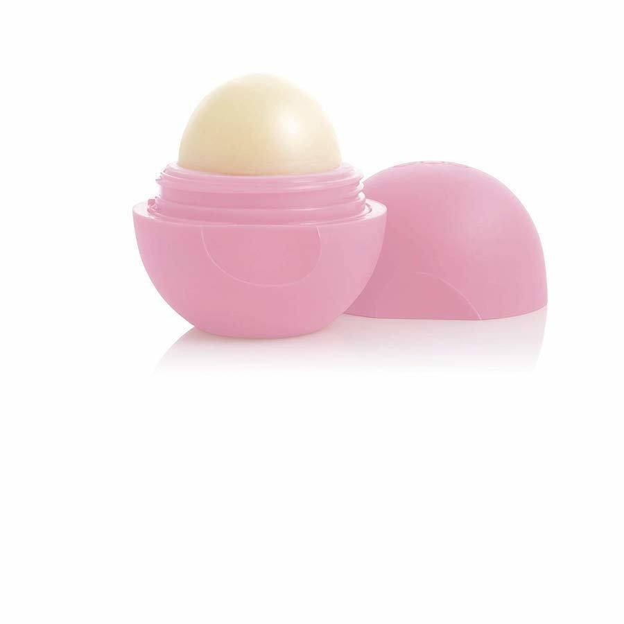 """<p>""""I love the quirky sphere shape—I'm always able to spot it in my purse. It's a must on long flights to keep my lips from drying out.""""</p> <p><strong>To buy:</strong> $3; <a href=""""https://www.amazon.com/eos-Active-Lip-Balm-Sphere/dp/B01JN8XZS8/ref=as_li_ss_tl?th=1&linkCode=ll1&tag=rsbeubestdrugstorebeautybuysrsylvesterjuly19-20&linkId=b25f6eb6f860c064001f9256d4bf45fe&language=en_US"""" target=""""_blank"""">amazon.com</a>.</p>"""