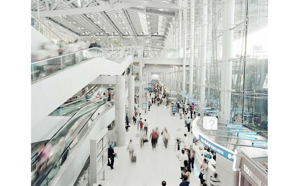 Bangkok International Suvarnabhumi Airport in Thailand, which in 2011 was the world's second-most Instagrammed location. | Giulio Di Sturco/INSTITUTE