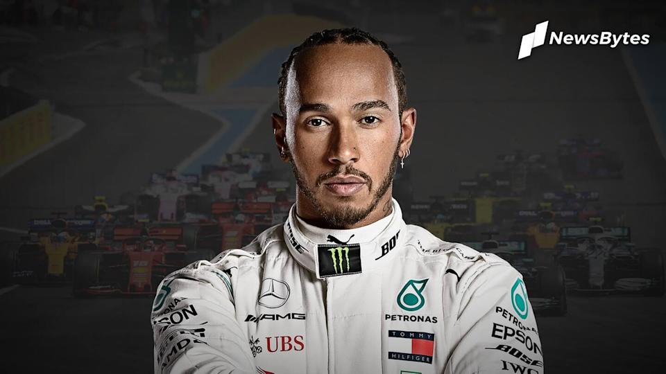 Lewis Hamilton wins seventh F1 world title, equals Schumacher