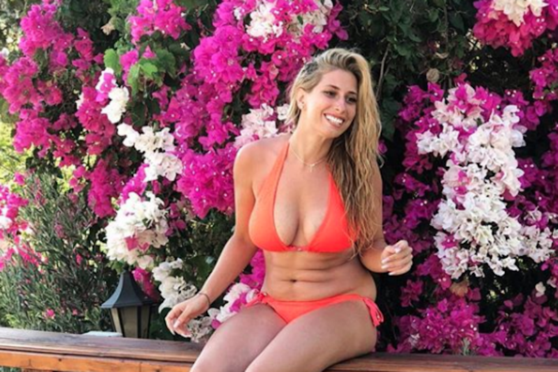 Holiday snap: Stacey Solomon has been praised for her latest Instagram post: Instagram / Stacey Solomon