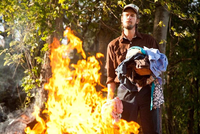 "This film image released by Roadside Attractions shows Ray McKinnon in a scene from ""Mud."" (AP Photo/Roadside Attractions, Jim Bridges)"