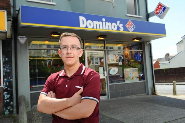 Teen charged £18k for pizza