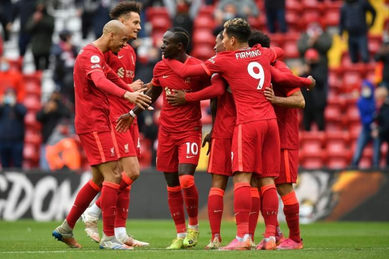 Liverpool beat Crystal Palace 2-0 to secure their place in next season's Champions League