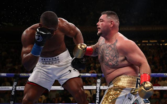 Andy Ruiz will try to drag Anthony Joshua into a messy battle, which could be the Briton's undoing - Getty Images North America