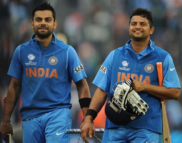 Position of Kohli and Raina matters the most in T20's