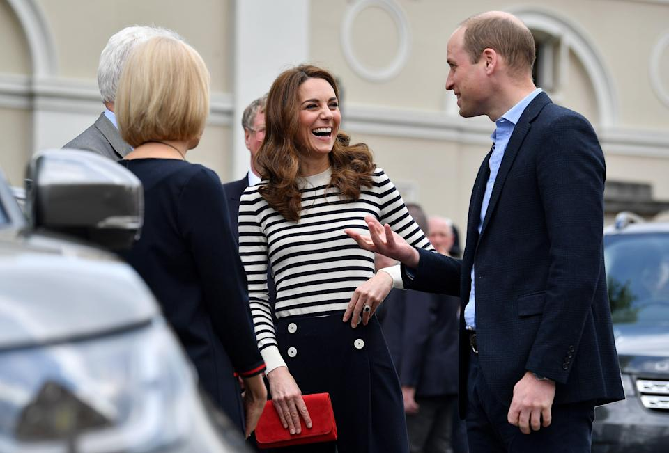 Kate and William at the Cutty Sark in Greenwich [Photo: Getty]