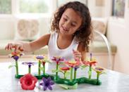 "<p>We love everything about Green Toys' philosophy. All the company's products are made from recycled plastic milk jugs, including its <a href=""https://www.popsugar.com/buy/Build--Bouquet-Floral-Arrangement-Playset-398642?p_name=Build-a-Bouquet%20Floral%20Arrangement%20Playset&retailer=walmart.com&pid=398642&price=22&evar1=moms%3Aus&evar9=25800161&evar98=https%3A%2F%2Fwww.popsugar.com%2Fphoto-gallery%2F25800161%2Fimage%2F25800190%2FGreen-Toys-Build--Bouquet-Floral-Arrangement-Playset&list1=gifts%2Choliday%2Cgift%20guide%2Cparenting%2Ctoddlers%2Cgreen%20toys%2Clittle%20kids%2Ckid%20shopping%2Choliday%20living%2Choliday%20for%20kids%2Cgifts%20for%20toddlers%2Cbest%20of%202019&prop13=api&pdata=1"" class=""link rapid-noclick-resp"" rel=""nofollow noopener"" target=""_blank"" data-ylk=""slk:Build-a-Bouquet Floral Arrangement Playset"">Build-a-Bouquet Floral Arrangement Playset</a> ($22). The 44-piece set allows tots to stack the flowers to create a beautiful garden.</p>"