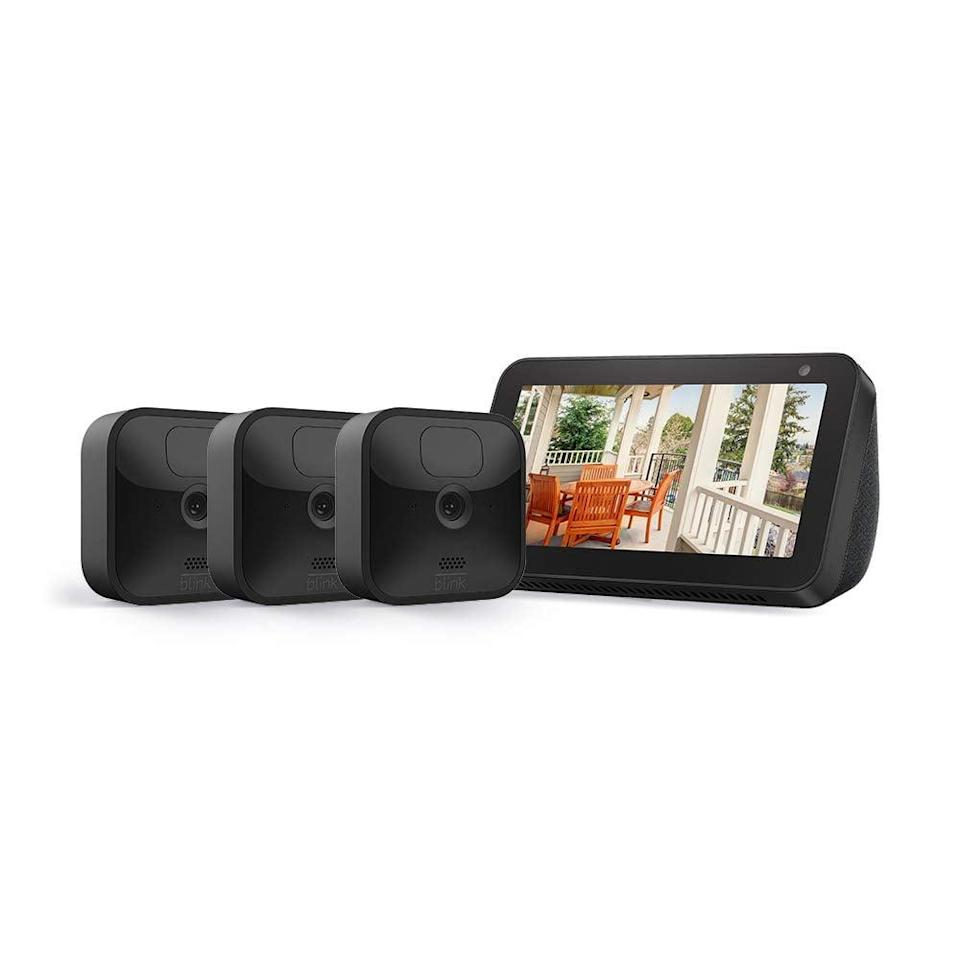 <p><span>Echo Show 5 With All-New Blink Outdoor 3 Camera Kit</span> ($160, originally $340)</p>