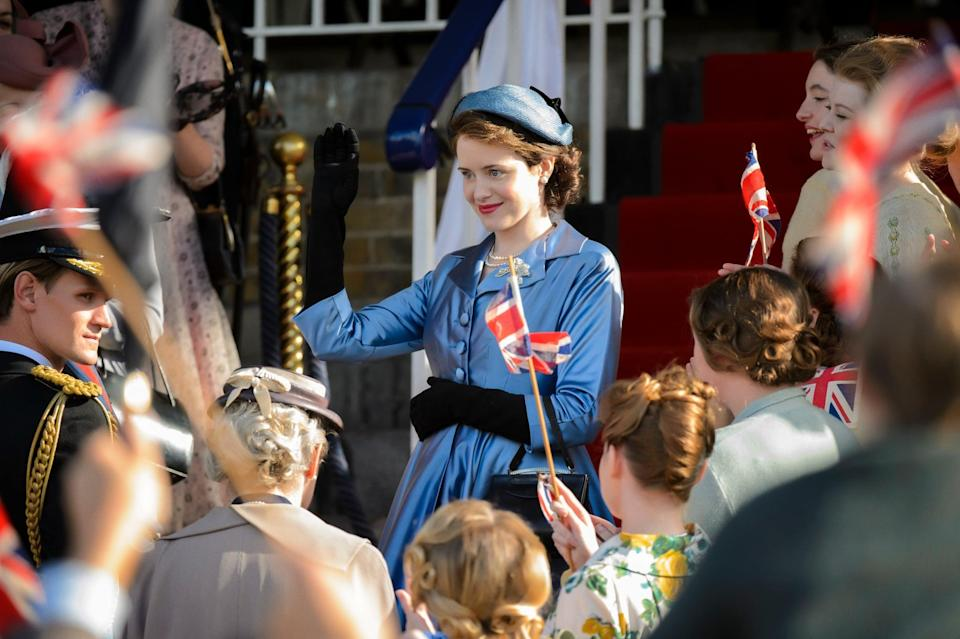 """<p>Based on the reign of Queen Elizabeth II of the United Kingdom, <strong>The Crown</strong> is an American-British biographical drama series that has the strong woman lead you've been looking for. From romances to rivalries, this show proves that being a queen is not always as glamorous as it looks.</p> <p>Watch <a href=""""https://www.netflix.com/title/80025678"""" class=""""link rapid-noclick-resp"""" rel=""""nofollow noopener"""" target=""""_blank"""" data-ylk=""""slk:The Crown""""><strong>The Crown</strong></a> on Netflix now.</p>"""