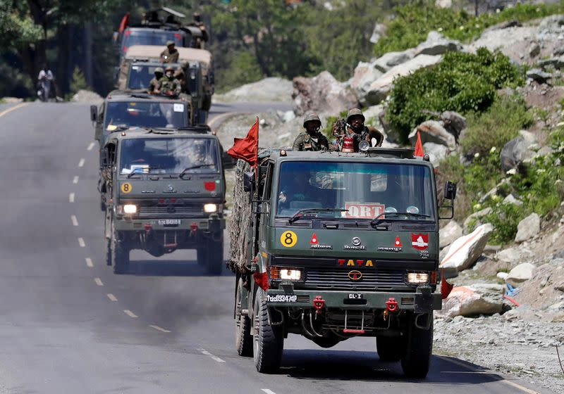 China begins pulling back troops near site of India border clash, Indian sources say