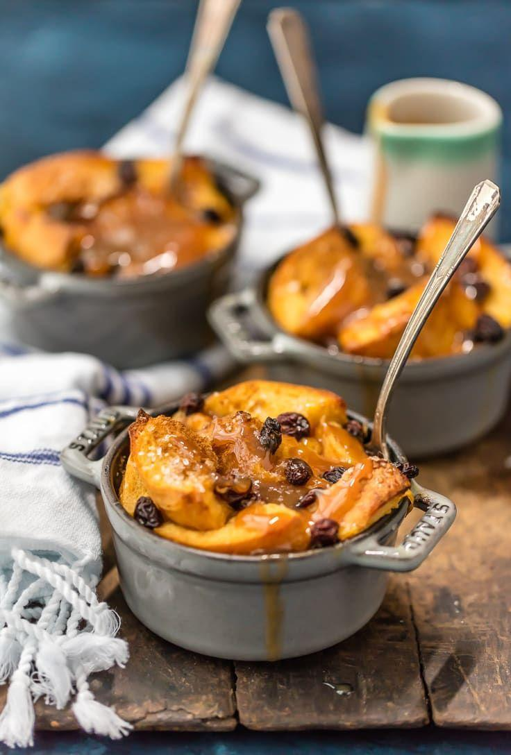 """<p>Make these individual bread puddings and serve with a side of warm whiskey caramel sauce. Fresh whipped cream couldn't hurt either!</p><p><strong>Get the recipe at <a href=""""https://www.thecookierookie.com/irish-bread-pudding-with-whiskey-caramel-sauce/"""" rel=""""nofollow noopener"""" target=""""_blank"""" data-ylk=""""slk:The Cookie Rookie"""" class=""""link rapid-noclick-resp"""">The Cookie Rookie</a>.</strong></p><p><strong><a class=""""link rapid-noclick-resp"""" href=""""https://go.redirectingat.com?id=74968X1596630&url=https%3A%2F%2Fwww.walmart.com%2Fsearch%2F%3Fquery%3Dramekins&sref=https%3A%2F%2Fwww.thepioneerwoman.com%2Ffood-cooking%2Fmeals-menus%2Fg35269814%2Fst-patricks-day-desserts%2F"""" rel=""""nofollow noopener"""" target=""""_blank"""" data-ylk=""""slk:SHOP RAMEKINS"""">SHOP RAMEKINS</a><br></strong></p>"""