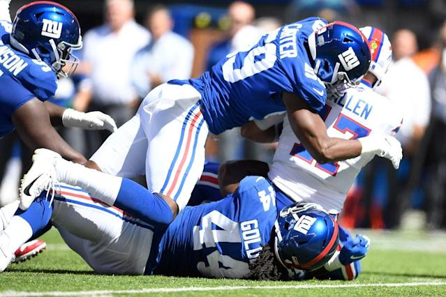 Giants defense refused to quit vs. Bills and hopes to carry resolve into test at Buccaneers