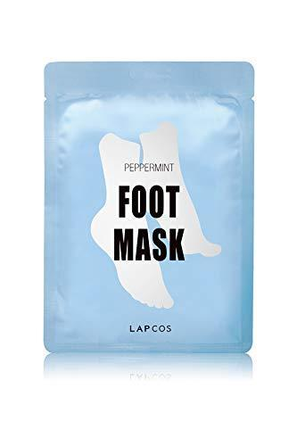 """<h3>LAPCOS Foot Mask, Moisturizing Treatment with Peppermint</h3><br>It's got all the hydrating benefits of a sheet mask, but for feet. Leave the serum-soaked socks on for 10-15 minutes and <em>voilà</em>: soft, tingly-fresh toes.<br><br><strong>LAPCOS</strong> Foot Mask, Moisturizing Treatment with Peppermint, $, available at <a href=""""https://amzn.to/3fx2OQc"""" rel=""""nofollow noopener"""" target=""""_blank"""" data-ylk=""""slk:Amazon"""" class=""""link rapid-noclick-resp"""">Amazon</a>"""