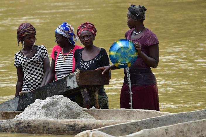 Sierra Leone wants to tighten the law regarding those guilty of violence against women, particularly sexual agression and rape (AFP Photo/ISSOUF SANOGO)