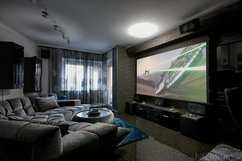 Projectors vs. TVs: Which big-screen should rule your home theater?
