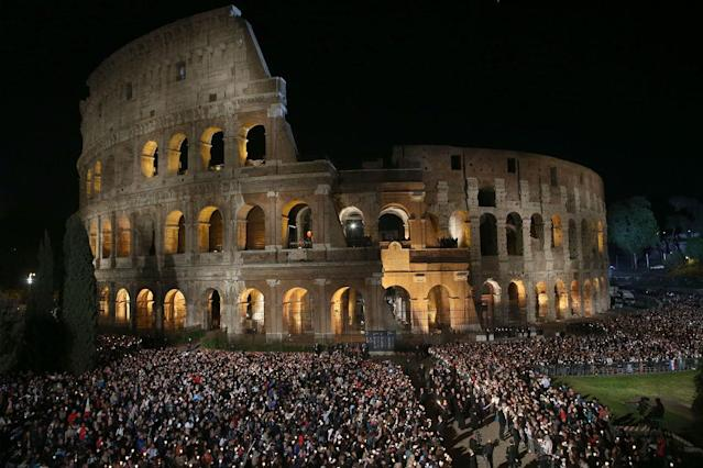 <p>No. 17: Colosseum <br>Location: Rome, Italy<br>Tags: 1,752,045<br>(Photo by Franco Origlia/Getty Images) </p>