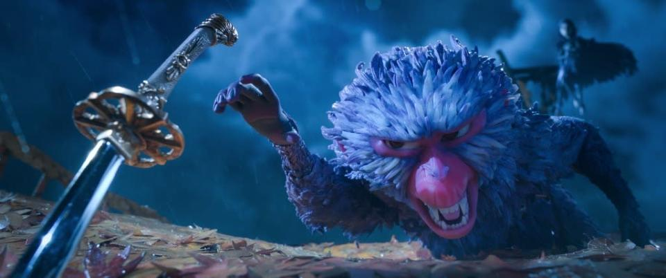 "Monkey (Charlize Theron) in ""Kubo and the Two Strings."" (United International Pictures)"