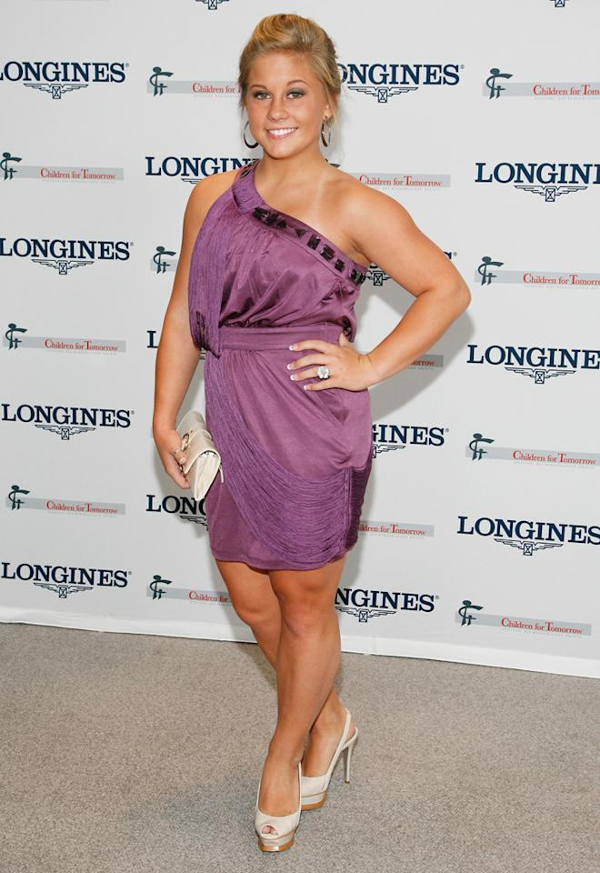 """U.S. Olympic Gymnast Shawn Johnson attends the """"Women Who Make A Difference"""" Awards at Hearst Tower on September 9, 2009 in New York City."""