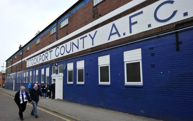 Soccer – npower Football League Two – Stockport County v Southend United – Edgeley Park