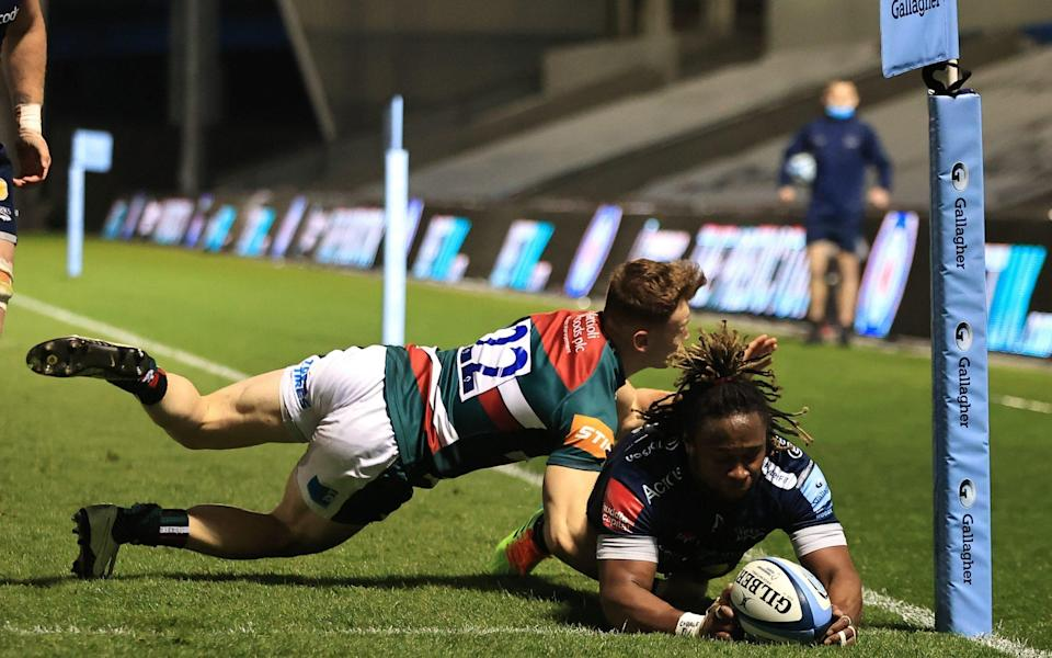 Marland Yarde impressed in front of England coach Eddie Jones - GETTY IMAGES