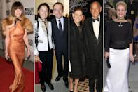 <p><strong>The theme: </strong>Jaqueline Kennedy: The White House Years </p> <p><strong>The co-chairs: </strong>Anna Wintour, Christina and Lindsay Owen-Jones, Annette and Oscar de la Renta and Carolina Herrera</p> <p><strong>Honory chairs: </strong>Caroline Kennedy and Edwin A. Schlossberg </p>
