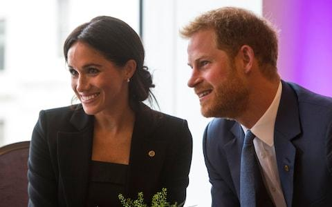 The Duke and Duchess of Sussex, pictured here at the WellChild Awards earlier this month - Credit: Victoria Jones/PA Wire