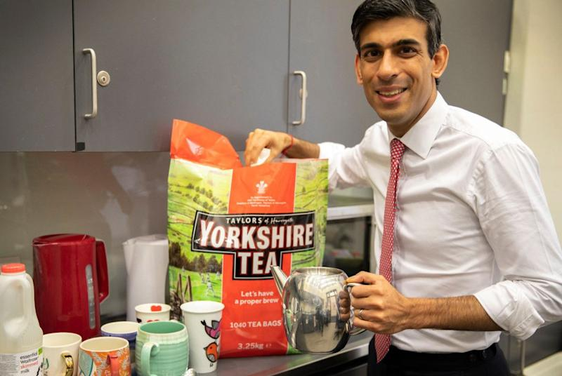 Chancellor Rishi Sunak likes Yorkshire Tea  (Photo: Rishi Sunak)