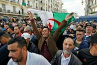 'You have sold the country, you traitors!' demonstrators shouted, addressing the authorities that have become the focus of protest ire since the demand for longstanding leader Abdelaziz Bouteflika's resignation was met in April