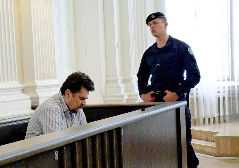 FILE PHOTO - Rimasauskas in his extradition case at a court in Vilnius
