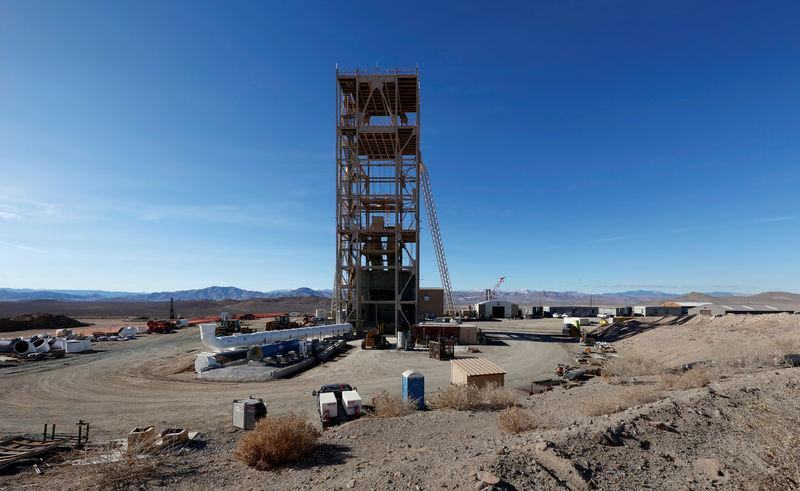 Nevada Copper's Pumpkin Hollow copper mine in Yerington, Nevada