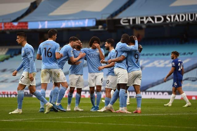 Guardiola is confident City will be in good shape to face Chelsea