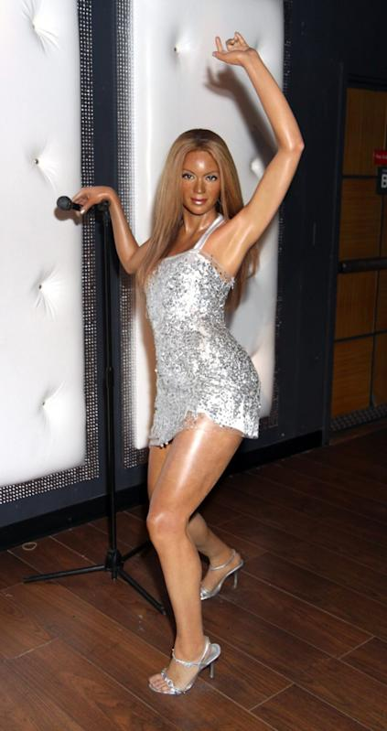 Wax figure of Beyoncé