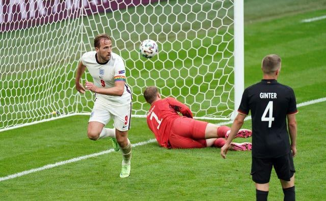 Harry Kane's header four minutes from the end sealed Germany's fate at Wembley