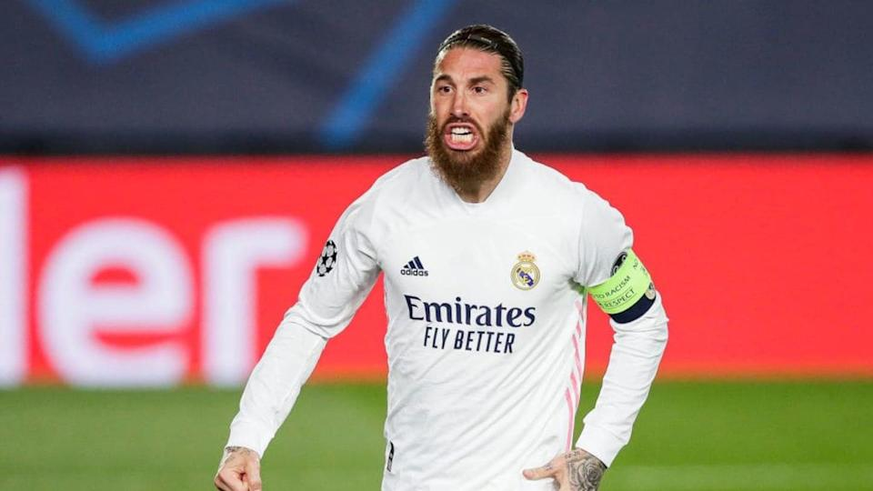 Sergio Ramos, Real Madrid   Soccrates Images/Getty Images
