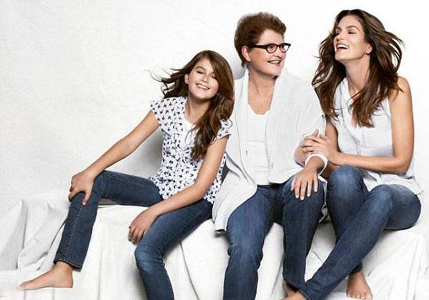 559b07802b9bb Cindy Crawford Stars in JCPenney Ad With Daughter