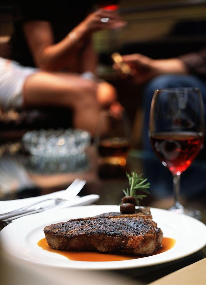 """<p><strong>Springfield, Illinois</strong></p><p>Thirty floors up, you'll get a jaw-dropping view of Illinois's capital while devouring classic dishes, like halibut and a porterhouse steak. You can find these (and so many more) featured in the chef's special list on the menu at <a href=""""http://citycentrecuisine.com/"""" rel=""""nofollow noopener"""" target=""""_blank"""" data-ylk=""""slk:Nick and Nino's"""" class=""""link rapid-noclick-resp""""><strong>Nick and Nino's</strong></a>. </p>"""