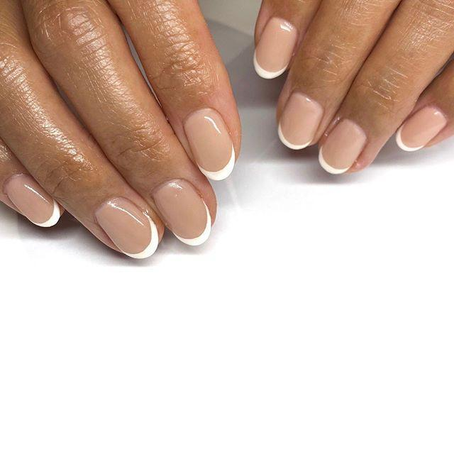 """<p>If it's not broken, why fix it? A natural white-tipped French manicure will <em>always </em>be in style.</p><p><a class=""""link rapid-noclick-resp"""" href=""""https://www.amazon.com/dp/B00099YVVG?tag=syn-yahoo-20&ascsubtag=%5Bartid%7C10055.g.1267%5Bsrc%7Cyahoo-us"""" rel=""""nofollow noopener"""" target=""""_blank"""" data-ylk=""""slk:SHOP SHEER NUDE POLISH"""">SHOP SHEER NUDE POLISH</a></p><p><a href=""""https://www.instagram.com/p/CCqq-KYlFdc/&hidecaption=true"""" rel=""""nofollow noopener"""" target=""""_blank"""" data-ylk=""""slk:See the original post on Instagram"""" class=""""link rapid-noclick-resp"""">See the original post on Instagram</a></p>"""