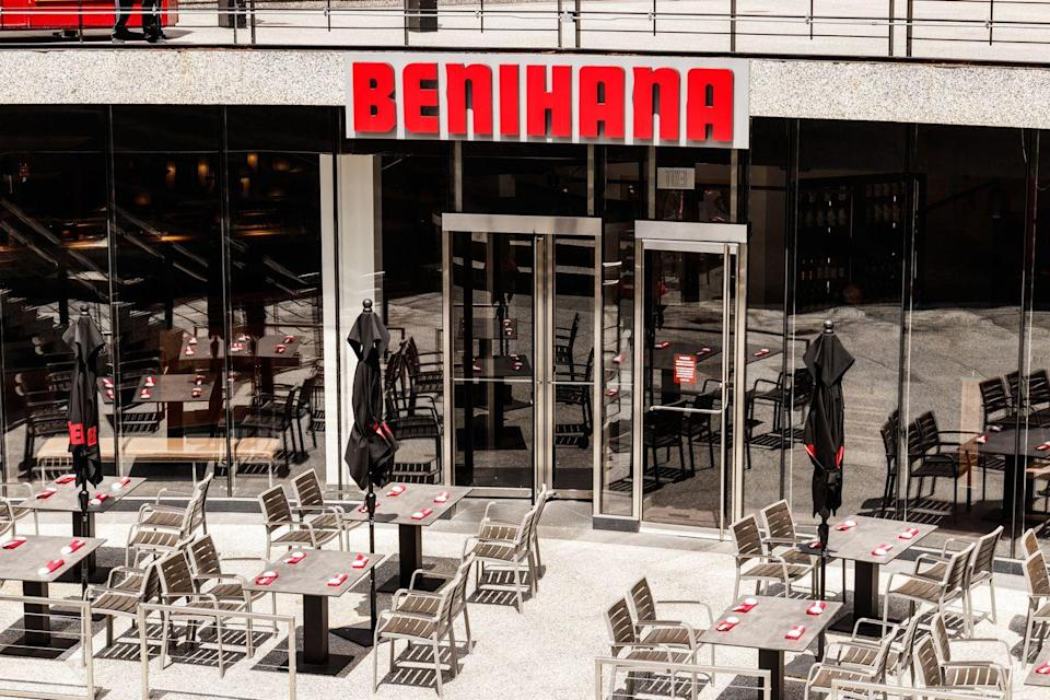 "<p>If your favorite episode of <em>The Office</em> is ""A Benihana Christmas"" you can relive it yourself this year. <a href=""https://www.benihana.com/reservations/?gclid=Cj0KCQiAq97uBRCwARIsADTziyazmPtlBuSgwSPt2VuySUYBePIejFD9KOVZ265hL3kllN-DRrGozBwaAhfzEALw_wcB"" rel=""nofollow noopener"" target=""_blank"" data-ylk=""slk:Benihana is open"" class=""link rapid-noclick-resp"">Benihana is open</a> for both lunch and dinner on Christmas Day.</p>"