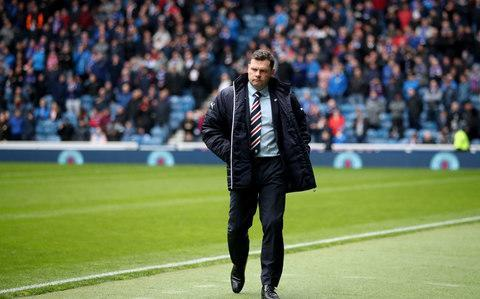 "Brendan Rodgers last night condemned the Rangers board for their treatment of Graeme Murty, saying that the Rangers interim manager had been 'thrown in below the bus' in successive Old Firm humiliations. On Sunday, Celtic secured a seventh successive Scottish title – their 49th in total – with a 5-0 drubbing of Rangers to follow their similarly dominant display in the William Hill Scottish Cup semi-final at Hampden Park. Murty, originally the under-20 coach, was in charge on both occasions in his interim capacity but, in the lead-up to the Hampden match, the Rangers chairman, Dave King, sent a letter to the club's season ticket holders saying that 'whoever is appointed' as manager for next season would be expected to bring 'immediate success'. Last week, with another high-octane Old Firm collision looming, word emerged that the Rangers board was in pursuit of Steven Gerrard. Once more, Murty was forced to address intense speculation on the eve of the most difficult fixture in Rangers' calendar. On advice from those around him behind the scenes, Murty did not speak to the media after Sunday's crushing defeat, not did Rangers put up any players for interview, which prompted widespread criticism, but Rodgers spoke up for his Ibrox counterpart. ""I have real empathy for Graeme Murty,"" The Celtic boss said. ""What that guy has had to go through in the build-up to big games, I have really felt for him. Talk about his role and his position? ""This is a guy who, at this time last year, was heralded as a very good coach for young players and I'm sure with first-team players as well, wanting to go into sessions because he really enjoyed his work."" Murty's side suffered a 5-0 defeat to champions Celtic Credit: PA Of Murty's first spell as interim manager, between the departure of Mark Warburton and the appointment of Pedro Caixinha – during which time Rangers emerged with a 1-1 draw from a league visit to Parkhead, Rodgers said: ""He goes into the role and does a real good job in stabilising it. ""He then gets asked to come in and do it again. What seems to be happening is that he gets thrown in below the bus, but this is a guy who has done everything he possibly can, I'm sure. ""As you build for big games, your focus should be on the field and on performance and I'm disappointed for him that it wasn't the case. You know there is always pressure and expectancy on these [Old Firm] games. If a lot of the background noise isn't there, you can just focus on the game."" Odsonne Edouard of Celtic celebrates scoring his second goal against Rangers on Sunday Credit: GETTY IMAGES Rodgers turned his attention to the efforts of the Scottish Professional Football League to avoid having Celtic clinch their latest championship at home to Rangers, partly because the police have been wary of such a circumstance since the Ibrox side won the title at Parkhead in 1999, in an exceptionally volatile atmosphere. The situation, however, was guaranteed when Celtic lost to Hibernian at Easter Road in the first fixture after the Scottish Premiership split, despite the opportunity to celebrate their success in Edinburgh. ""They put us away to Hibs in the first game, but this is a wonderful country. There is great football here,"" Rodgers said. ""Football is shown from all over the world and it is highlighting all these great games in Spain, or whatever, but Sunday at Celtic Park was as good as it gets in terms of spectacle, intensity and that balance between supporting your team and everything else. ""If they want to make the decider the game after the split, do it. Trust it. It can be like Sunday. That's important and people have to learn to live with it and deal with it, which I'm sure they will. ""Of course, Scotland doesn't have the image of the Premier League down south, there's nowhere near the money, but a spectacle such as last Sunday is a great advert for Scottish football. That's what I enjoy - the work, the development and the pressure that comes with the expectancy."" Celtic are now in Tenerife and will return to prepare for next Sunday's visit to Tynecastle, where their UK record of 69 successive domestic games unbeaten came to an end with Hearts' 4-0 victory in December. ""The players have been back since June 18 and it's been a long winter,"" Rodgers said. ""I've been with Swansea and Liverpool in Tenerife. You get some good training and some sunshine."""