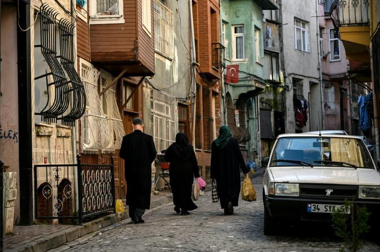 """In Balat, it is the ambiance, like that of """"spontaneous theatre,"""" which attracts, says Arda Gurler, who runs an online auction website for old documents and engravings"""
